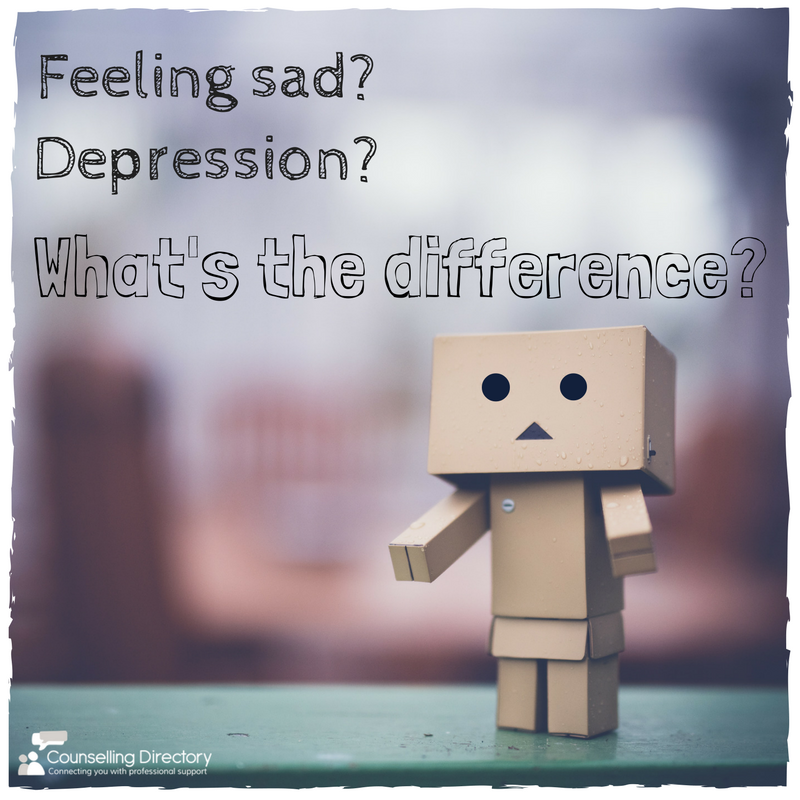 The Difference Between Feeling Sad And Depression